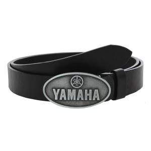 Kožený moto opasek se sponou Yamaha