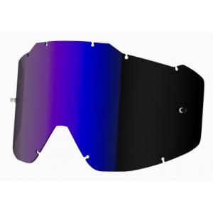 Modře iridiové sklo do brýlí Shot Assault/ Iris