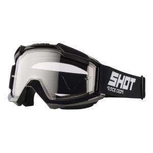 Motokrosové brýle Shot Assault Enduro černé