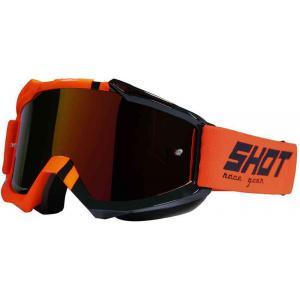 Motokrosové brýle Shot Iris Sound fluo oranžové