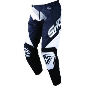 Motokrosové kalhoty Shot DEVO Ultimate černo-bílé výprodej