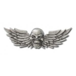 Nalepovací emblém Skull Wings