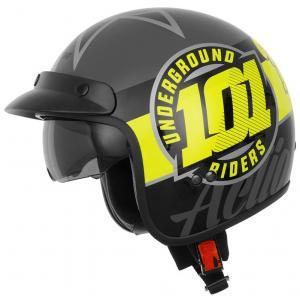 Otevřená přilba na motorku Cassida Oxygen 101 Riders
