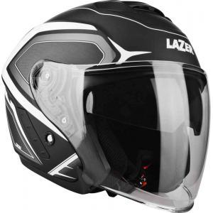 Otevřená přilba na motorku Lazer Tango Hexa černo-bílá