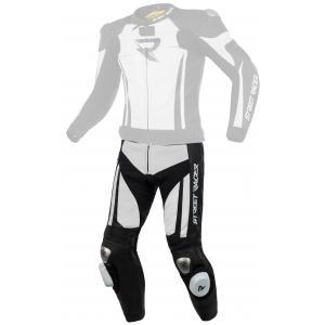 Pánské kalhoty Street Racer Fasttrack černo-bílé