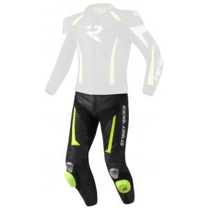 Pánské kalhoty Street Racer Fasttrack černo-bílo-fluo žluté