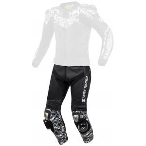 Pánské kalhoty Street Racer Pattern černo-šedé