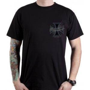 Pánské triko Black Heart Chopper Cross