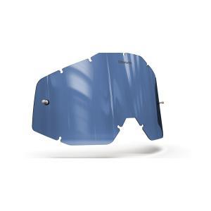 Plexi Onyx pro motokrosové brýle 100% Racecraft/Accuri/Strata (modré s polarizací)