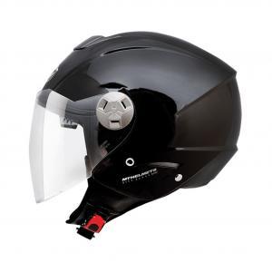 Přilba na motorku otevřená MT City Eleven SV černá výprodej