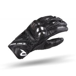 Rukavice na motorku Street Racer XTR černé