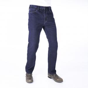 Zkrácené jeansy na motorku Oxford Original Approved Jeans modré výprodej