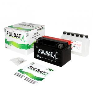 Bezúdržbová motocyklová baterie FULBAT FT12A-BS (YT12A-BS)