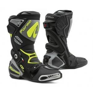 Boty na motorku Forma Ice Pro černo-šedo-fluo žluté