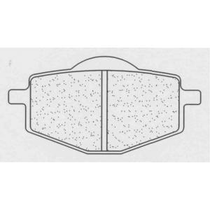 Brzdové destičky CL BRAKES 2284 RX3