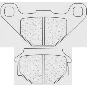 Brzdové destičky CL BRAKES 2472 RX3