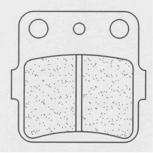 Brzdové destičky CL BRAKES 2328 X59 (X55)