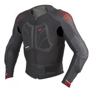 Chránič těla Zandona Action X6 černo-červený 160-169 cm