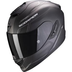 Integrální přilba Scorpion EXO-1400 Carbon Air Beaux černo-stříbrná