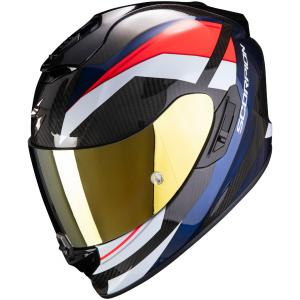 Integrální přilba Scorpion EXO-1400 Carbon Air Legione černo-červeno-modrá