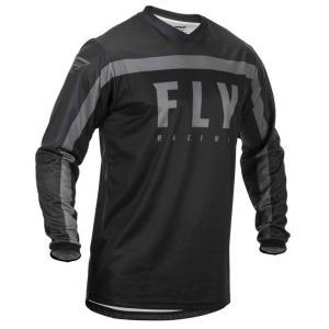 Motokrosový dres FLY Racing F-16 2020 černo-šedý