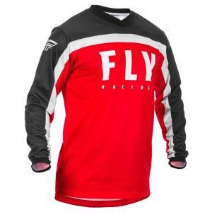 Motokrosový dres FLY Racing F-16 2020 červeno-černo-bílý