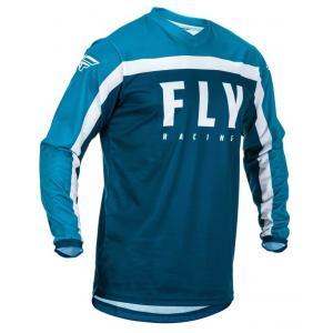 Motokrosový dres FLY Racing F-16 2020 modro-bílý
