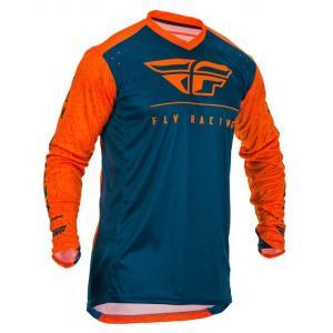 Motokrosový dres FLY Racing Lite 2020 oranžovo-modrý