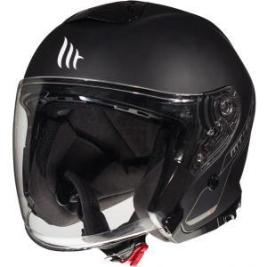 Otevřená přilba na motorku MT Thunder 3 SV Solid černá matná
