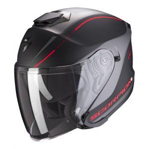 Otevřená přilba Scorpion EXO-S1 Shadow černo-červená výprodej