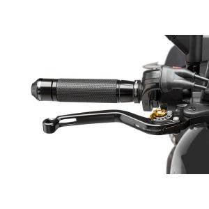 Páčka brzdy bez adaptéru PUIG 170NO dlouhé černá/zlatá