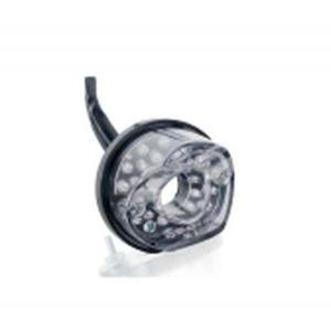 Zadní brzdové světlo PUIG WITH ALUMINIUM BASE 6389W čiré sklíčko