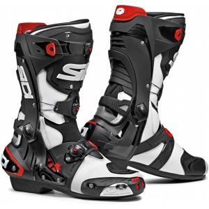 Boty na motorku SIDI REX bílo-černé