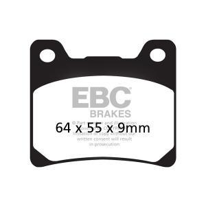 Brzdové destičky EBC FA088V