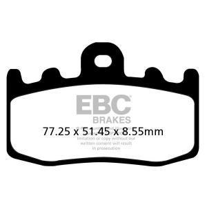 Brzdové destičky EBC FA335HH