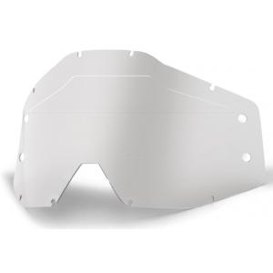 Čiré plexi pro dětské motokrosové brýle 100% Accuri Forecast