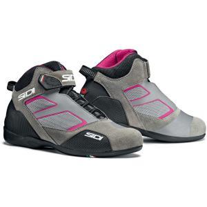 Dámské boty na motorku SIDI Meta šedo-růžové