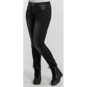 Dámské jeansy na motorku BROGER Florida černé výprodej