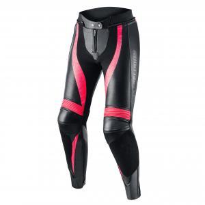 Dámské kalhoty na motorku Rebelhorn Rebel černo-růžové
