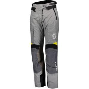 Dámské kalhoty na motorku SCOTT Dualraid Dryo šedo-žluté výprodej