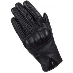 Dámské rukavice na motorku Rebelhorn Thug II černé perforované