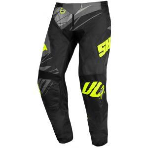 Dětské motokrosové kalhoty Shot Devo Ventury černo-šedo-fluo žluté