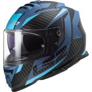 Integrální přilba na motorku LS2 FF800 Storm Racer černo-modrá
