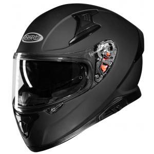 Integrální přilba na motorku Ozone Arrow černá matná