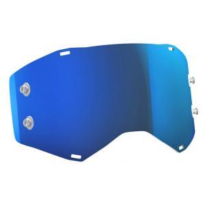 Modré zrcadlové sklo Works do motokrosových brýlí SCOTT Prospect/Fury výprodej