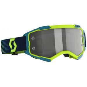Motokrosové brýle SCOTT Fury LS žluto-modré výprodej