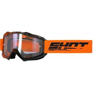 Motokrosové brýle Shot Assault Elite černo-oranžové