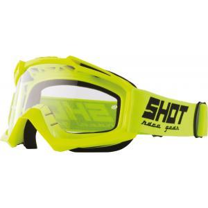Motokrosové brýle Shot Assault Solid fluo žluté