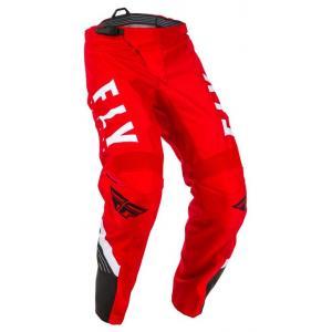 Motokrosové kalhoty FLY Racing F-16 2020 červeno-černo-bílé