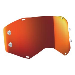 Oranžové zrcadlové sklo do motokrosových brýlí SCOTT Prospect/Fury
